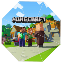 Зонт Майнкрафт (Minecraft) купить в Москве