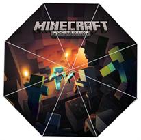 Зонт Майнкрафт (Minecraft) темный купить