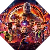 Зонт Мстители (Avengers) красный купить в Москве