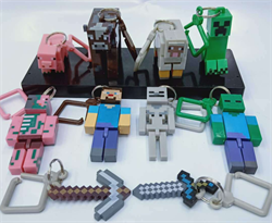 Брелок на рюкзак Майнкрафт (Minecraft) купить