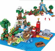 Конструктор Minecraft Dream Worlds (Майнкрафт) 459 деталей купить в Москве