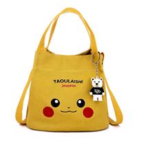 Мини сумка Пикачу (Pikachu) желтая купить недорого