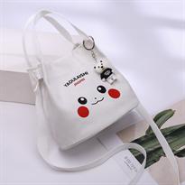 Мини сумка Пикачу (Pikachu) белая купить в Москве