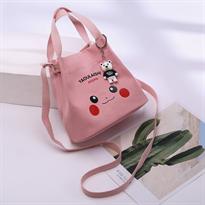 Мини сумка Пикачу (Pikachu) розовая купить в Москве