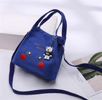 Мини сумка Пикачу (Pikachu) синяя купить в Москве