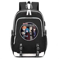 Черный рюкзак с персонажами Салли Фейс (Sally Face) купить в Москве