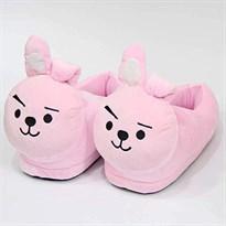 Плюшевые тапочки Кролики