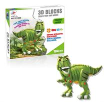 3D пазл динозавр Тираннозавр 104 детали купить в Москве