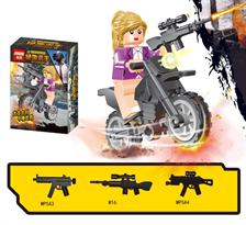 Минифигурка героини ПУБГ (PUBG) совместима с Лего купить