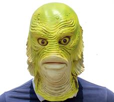 Маска человек-рыба для Хэллоуина купить в Москве