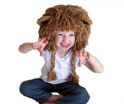 Шапка львиная грива с ушками купить в Москве