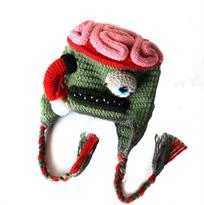 Вязаная шапка Зомби купить в Москве