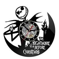 Настенные часы Кошмар перед Рождеством (The Nightmare Before Christmas)