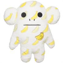 Мягкая игрушка подушка CRAFTHOLIC Обезьяна с бананами 40 см купить