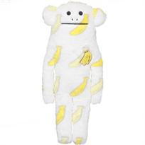 Мягкая игрушка подушка CRAFTHOLIC Обезьяна с бананами 36 см купить
