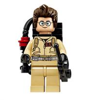 Минифигурка Игон Спенглер Охотники за привидениями (Ghostbusters) совместима с Лего купить