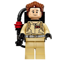 Минифигурка Питер Венкман (Ghostbusters) совместима с Лего купить