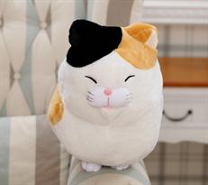 Мягкая игрушка Трехцветный кот 30 см купить в Москве