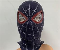 Черная маска Человек-паук (Spiderman) купить в Москве