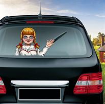 Наклейка на машину Аннабель (Annabelle) купить в Москве