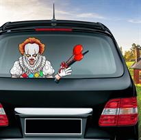 Наклейка на машину Пеннивайз Оно (It) купить в Москве