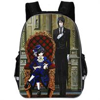 Рюкзак с героями аниме Темный Дворецкий (Black Butler) купить в Москве