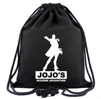 Черный рюкзак мешок Джоджо (Jojos Bizarre Adventure) купить в Москве