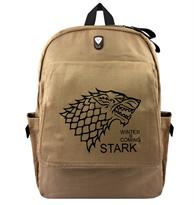 Рюкзак с гербом Старков Игра престолов (Game of Thrones) купить в Москве