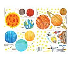 Интерьерная наклейка Планеты купить в Москве