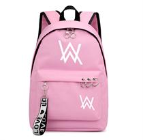 Розовый рюкзак Алан Уокер (Alan Walker) светится в темноте купить в Москве