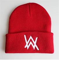 Красная шапка с лого Алана Уокера (Alan Walker) купить