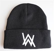 Черная шапка с лого Алана Уокера (Alan Walker) купить