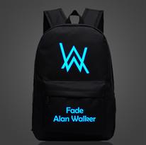 Черный рюкзак Алан Уокер (Alan Walker) светится в темноте купить в Москве