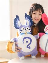 Мягкая игрушка голубой заец из аниме 55 см купить