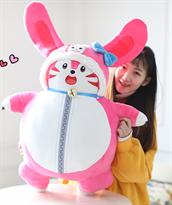 Мягкая игрушка розовый заец из аниме 95 см купить в Москве
