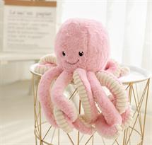 Мягкая игрушка Осьминог розовый 40 см купить в Москве