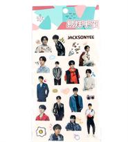 Набор наклеек Джексон И (Jackson Yee) купить