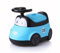 Детский горшок Гоночная машина (голубой) купить