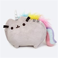 GUND Pusheenicorn Plush Stuffed Animal Rainbow Cat Unicorn купить