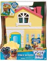 Игровой набор с домиком Дружные мопсы (Puppy Dog Pals Stow N Go Playset) купить в Москве