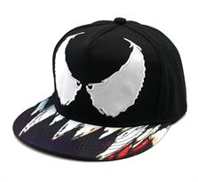 Кепка Веном (Venom) черная с белым купить в Москве