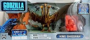 Фигурка Кинг Гидора (Jakks Godzilla King Of The Monsters King Ghidorah Movie Figure) купить в Москве