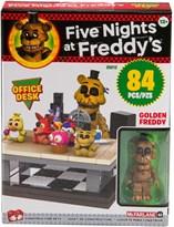 Конструктор Фнаф Фредди Офисный Стол (Five Nights at Freddy's Office Desk Small Set) 84 детали купить в Москве