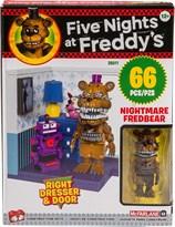 Конструктор Фнаф Фредди с Комодом (Five Nights at Freddy's Right Dresser & Door Small Set) 66 деталей купить в Москве