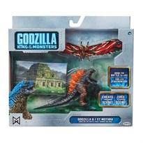 Игровой набор Годзилла и Мотра (King of The Monsters Match Up Action Figure set featuring Mothra) купить в Москве