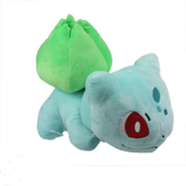 Мягкая игрушка Покемон Бульбазавр (Bulbasaur) купить в Москве
