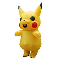 Надувной костюм Пикачу (Pikachu) купить в Москве