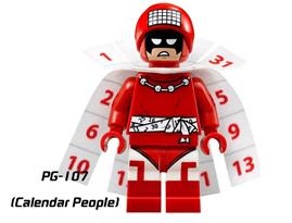 Фигурка совместимая с лего Календарный человек (Calendar man)