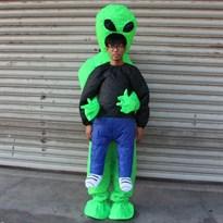 купить надувной костюм инопланетянина