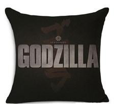 Подушка с Логотипом Годзиллы (Legendary Godzilla) 44X44 см купить